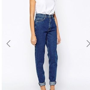 American Apparel The high waisted jean